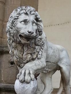 Lion, emblème de la ville