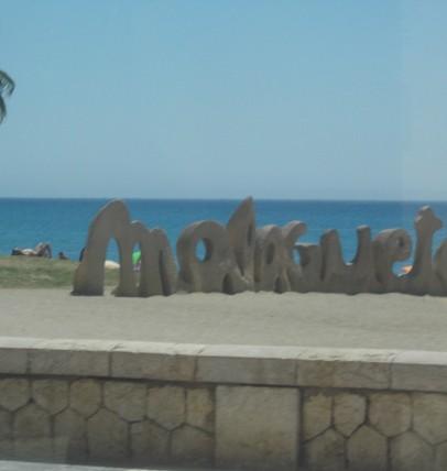 plage de la Malagueta