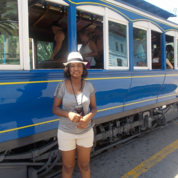 tramway bleu