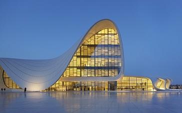centre culturel Heydar-Aliyed (Bakou, Azerbaïdjan)